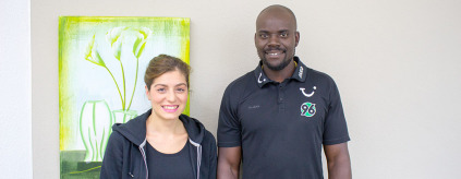 Praxis für Physiotherapie in Bad Münder - Vassiliki Giangkou und Paul Wedekin